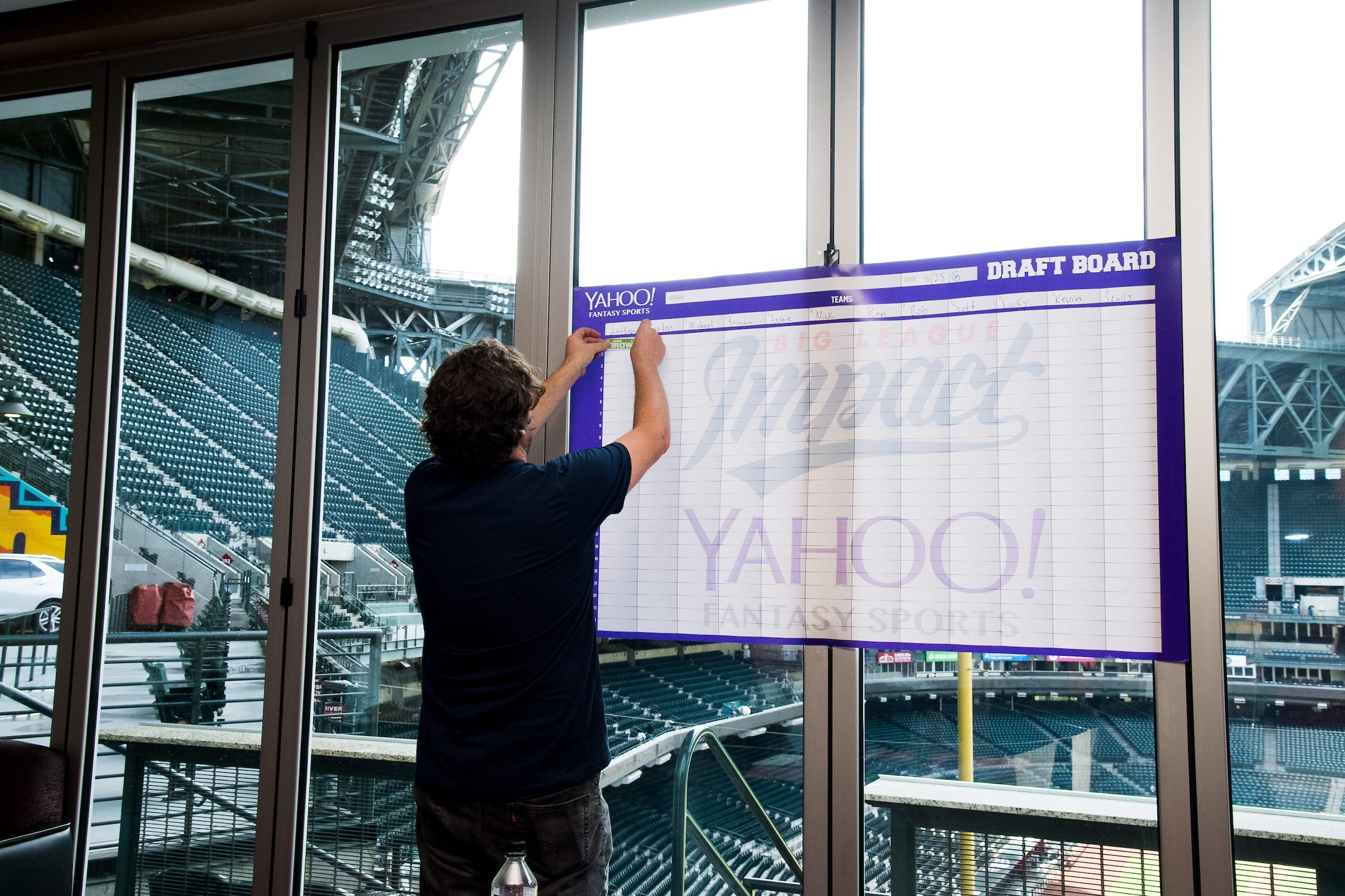 Big League Impact is now the charity partner of Yahoo! Sports